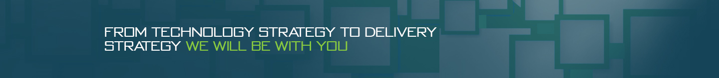 From technology strategy to delivery strategy we will be with you